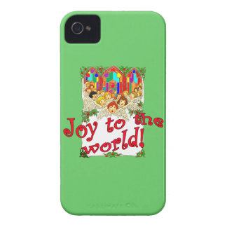 Joy to the World! iPhone 4 Cases