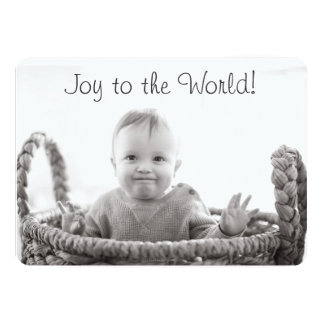 Joy to the World! Centered Card