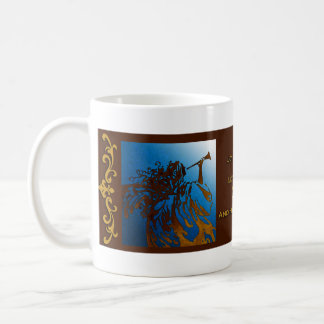 Joy To The World Christmas Angel Mug