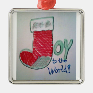 Joy to the World Christmas Ornament