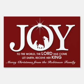 Joy to the World | Christmas Sign