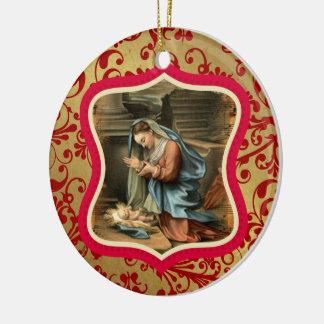 Joy To The World Custom Ornament