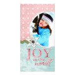 Joy to the World Customized Photo Card