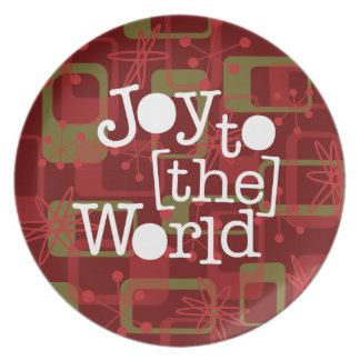 Joy To The World Dinner Plate