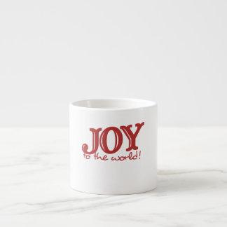 Joy to the world espresso cup