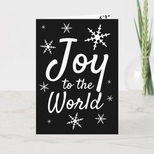 Joy To The World Funny Trump Mugshot Holiday Card