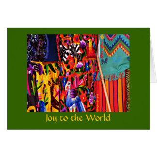 Joy to the World global christmas Card
