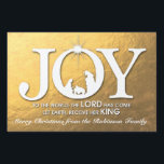 """Joy to the World (gold) 