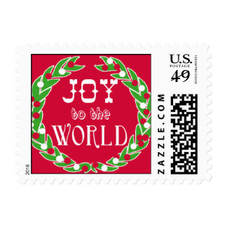 JOY TO THE WORLD Holiday Postage