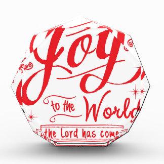 Joy to the World II by Jan Marvin Acrylic Award