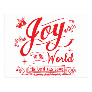 Joy to the World II by Jan Marvin Postcard