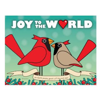 Joy to the World II postcard