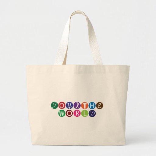 Joy To The World Jumbo Tote Bag