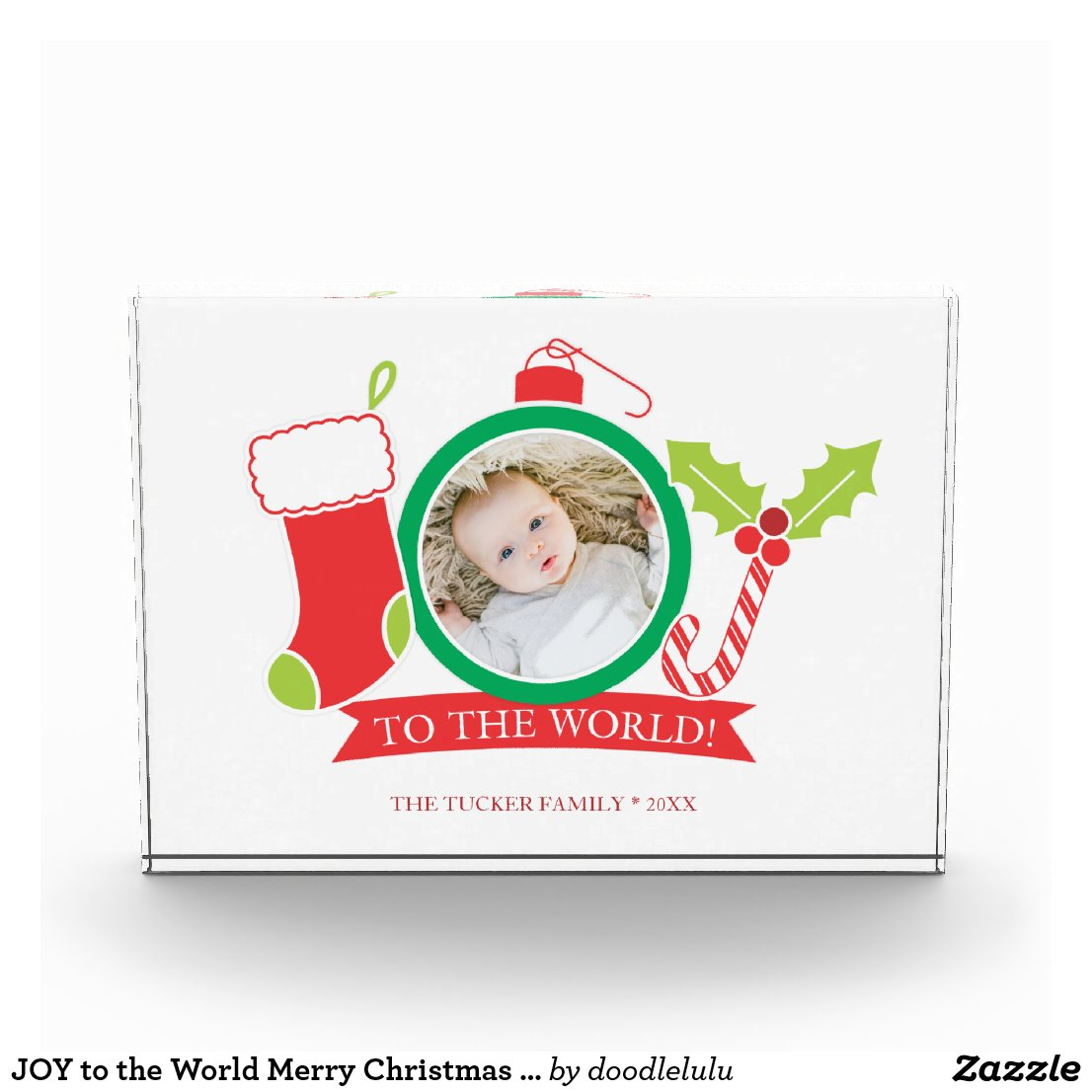 JOY to the World Merry Christmas Photo