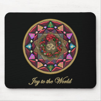 Joy to the World Mouse Pad
