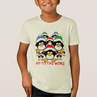 Joy to the World Penguins on Tshirts, Gifts T-Shirt