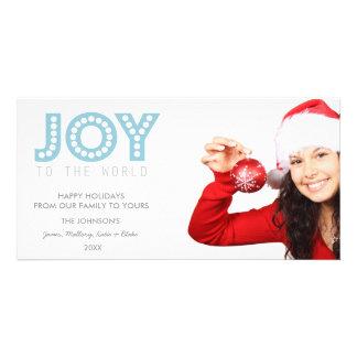 JOY To The World Photo Card | Holidays