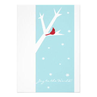 Joy to the World Photo Card Personalized Announcement