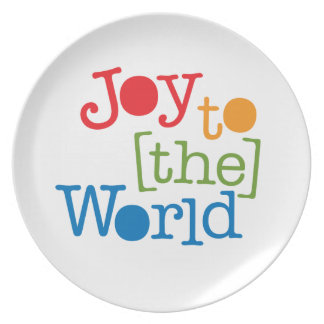 Joy To The World Plate