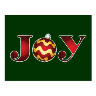 Joy to the World Post Card
