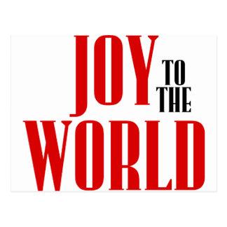 Joy to the World! Postcard