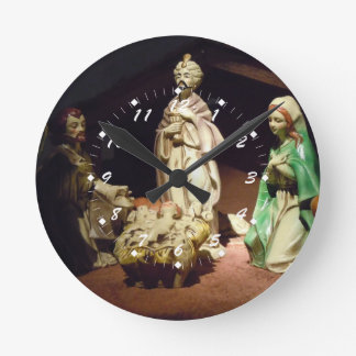 Joy To The World Round Clock