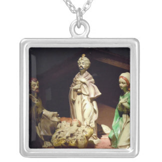 Joy To The World Silver Plated Necklace