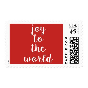 Beach Themed Joy To The World Stamp