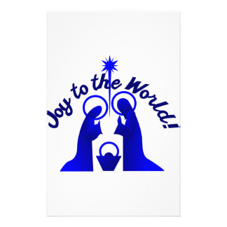 Joy to the World Stationery