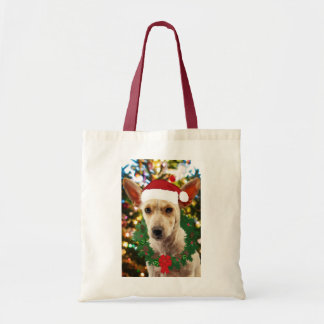 Joy to thee Puppy Tote Bag