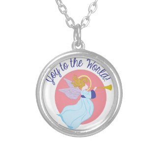 Joy To World Silver Plated Necklace