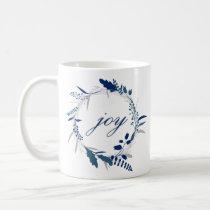 JOY Twig Corolla Pattern Winter Coffee Mug