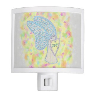 Joy White Light Guardian Angel Night Light Lamp