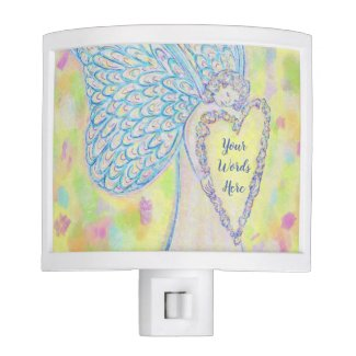 Joy White Light Guardian Angel Nightlight Lamp