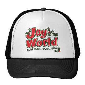 Joy World Blah Blah Trucker Hat