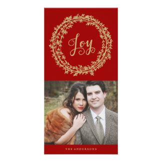 Joy Wreath | Holiday Photo Cards
