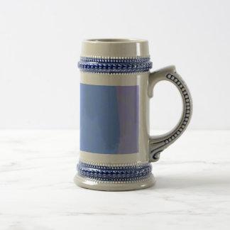 Joya azul clara tazas de café