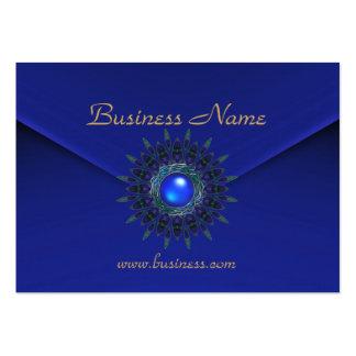 Joya azul de Sun del terciopelo rico del negocio d Tarjeta Personal
