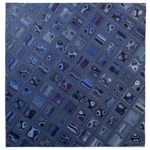 Joya azul servilletas de papel