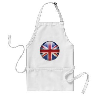 Joya BRITÁNICA de la bandera Delantal