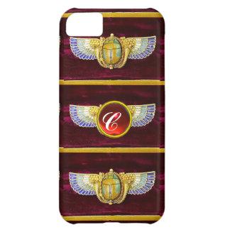 JOYA COA ALAS EGIPCIO ANTIGUO DE /CORNUCOPIA DEL CARCASA iPhone 5C