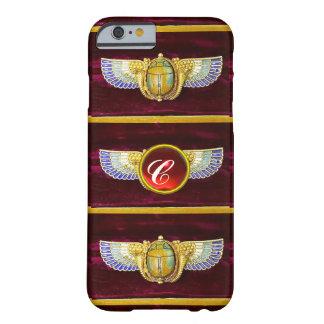 JOYA COA ALAS EGIPCIO ANTIGUO DE /CORNUCOPIA DEL FUNDA BARELY THERE iPhone 6