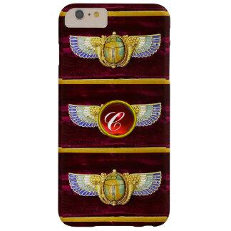 JOYA COA ALAS EGIPCIO ANTIGUO DE /CORNUCOPIA DEL FUNDA BARELY THERE iPhone 6 PLUS