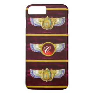 JOYA COA ALAS EGIPCIO ANTIGUO DE /CORNUCOPIA DEL FUNDA iPhone 7 PLUS