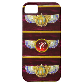 JOYA COA ALAS EGIPCIO ANTIGUO DE /CORNUCOPIA DEL FUNDA PARA iPhone SE/5/5s