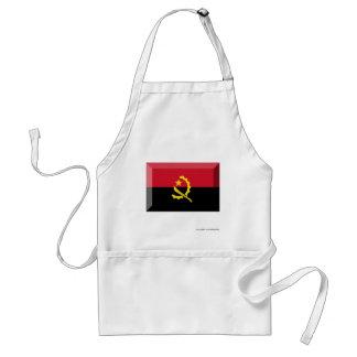 Joya de la bandera de Angola Delantales