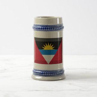 Joya de la bandera de Antigua y de Barbuda Taza De Café