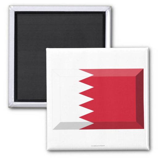 Joya de la bandera de Bahrein Imán Cuadrado