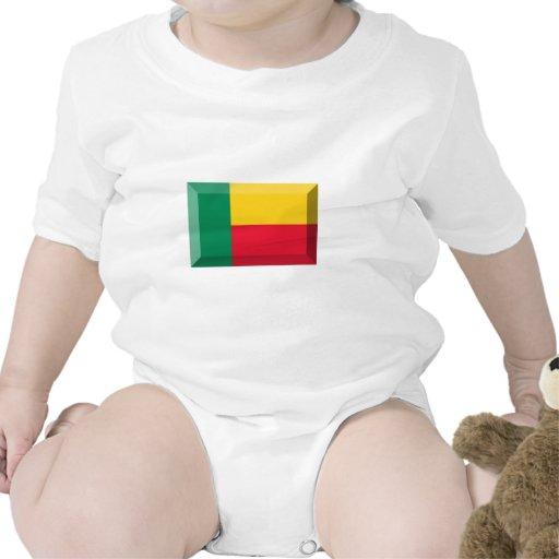 Joya de la bandera de Benin Traje De Bebé
