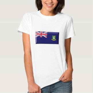 Joya de la bandera de British Virgin Islands Remera